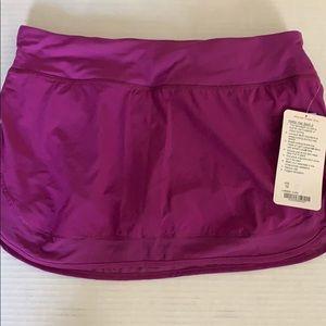 lululemon athletica Skirts - Lululemon hottie hot skirt tender violet sz 10